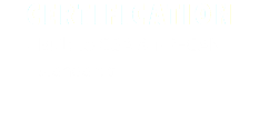 CERTIFICATION Built to CSA & NR-CAN standards